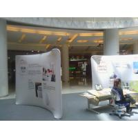 Buy cheap 10Ft Aluminum Stand Tension Fabric Displays , affordable booth displays for trade shows from wholesalers