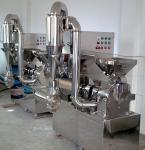 High Speed Herbal Crushing Machine , Easy Operation Medicine Pulverizer