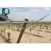 Buy cheap Hot Galvanized Steel Grape Vine Trellis Systems With Angle Steel 45X25MM from wholesalers