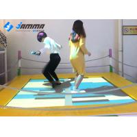 Buy cheap Playground Interactive Floor Projection Games Trampoline 2.1 X 2.1M Easy Installation from wholesalers