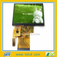 Buy cheap Low price TST350MTQV-01 3.5'' inch 240x320 TFT lcd module with touch panel from wholesalers