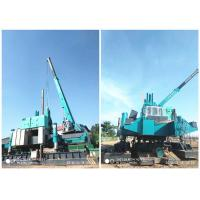 Buy cheap Roadside Hydraulic Piling Machine 460T Piling Capacity No Air Pollution from wholesalers