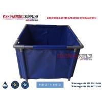 Buy cheap Hot Sell PVC Water Storage Tank Custom Collapsible Fish Farming Tank from wholesalers