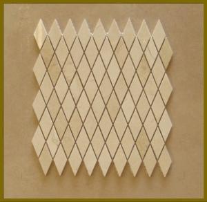Mosaic Tile,Diamond Mosaic,French Pattern Design Mosaic,Nero Marquina Mosaic Tile,Kitchen Mosaic Tile Manufactures