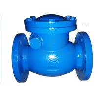 Wholesale PN10 / PN16 Ductile Iron Valves Hydraulic Swing Check Valve ANSI BS DIN JIS from china suppliers