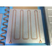 Buy cheap Super Efficiency Copper Tube Heat Sink , Heatsink Copper Tube For CPU from wholesalers