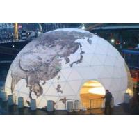 Buy cheap Waterproof Half Sphere Geodesic Dome Tent For Camping 35m Diameter from wholesalers