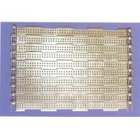 Buy cheap SS wire mesh belts slat band conveyor belts for oven bakery industry from wholesalers