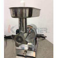 Buy cheap Beef  Electric Meat Grinder With Sausage Stuffer Foot Pedal Control 3 Grinding Plates from wholesalers