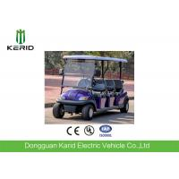 Buy cheap Safety 4KW Waterproof 6 Seater Electric Golf Carts With 2pcs Rear View Mirror from wholesalers