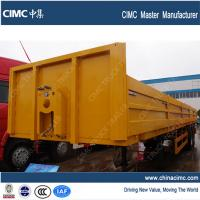 Buy cheap euro standard 40ft 2 axles semi flat bed trailer with container locks from wholesalers
