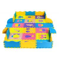 Buy cheap Eco-Friendly 100% eva puzzle mats with fence soft baby play mat from wholesalers