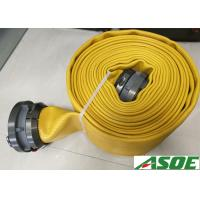 Buy cheap Lay Flat Nitrile Rubber Fire Hose For Fire Fighting 5 Years Guarantee from wholesalers