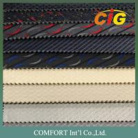 Eco Suede auto interior upholstery fabric Polyester 140~160CM Width Manufactures