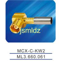Buy cheap Wholesale price,free shipping,manufacturer of MCX female connector ,right angle,insulator of 2mm diameter,crimp from wholesalers