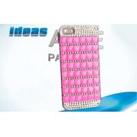 Import Diamond Cell Phone Leather Cases Iphone 4 / 5 Case In Phone Case Manufactures