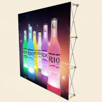 Buy cheap 3 X 3 Pop Up Banner Stands With Plastic Buckle Connector Free Carrying Bag from wholesalers
