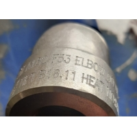 Buy cheap FORGED 90 DEG SOCKET WELD ELBOW DIMENSIONS   NPS 1/2 to 4 ASTM A182 F53 from wholesalers