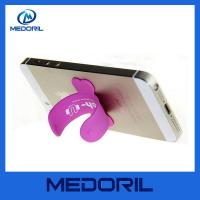 Wholesale 2016 Wholesale factory price silicone mobile phone stand holder with custom logo from china suppliers