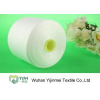 Quality AAA Brand Polyester Spun Yarn Z Twist  Bright On Plastic or Paper Cone for sale