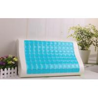 Buy cheap Comfortable OEM summer contour Polyurethane memory foam Cool gel pillow from wholesalers