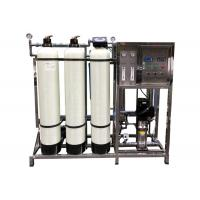 China FRP Softener Filter Reverse Osmosis Water Purification For Drinking 500LPH on sale