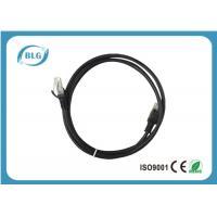 Buy cheap Copper Cat5e / CAT6 UTP Ethernet Patch Cable RJ-45 Black Color 8P8C 50U Male product