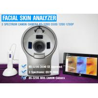 Buy cheap UV Spectrum Salon 3D Facial Skin Analyzer Machine With Canon Camera 8800 Lux from wholesalers