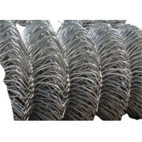 Buy cheap 75mm Hole Park 1x10m Galvanized Steel Chain Link Fence from wholesalers