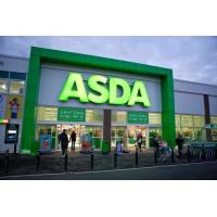 Wholesale 3D LED Front-lit Painted Brushed Metal Aluminum Letter Signs For ASDA from china suppliers