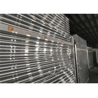 Buy cheap Free Standing Temporary Fencing Panels 2.1mx2.4m OD32mm wall thick 1.80mm Mesh 60mm x 150mm Dia:4.00mm from wholesalers
