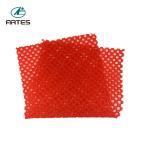 Buy cheap Household Floor Red Bath Mat , 60*75cm Non Skid Bathroom Floor Rugs from wholesalers