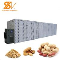 Buy cheap Grain Been Industrial Hot Air Dryer Nuts Peanut Pine Nut Melon Seed Drying Machine from wholesalers