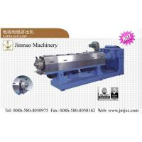 Buy cheap Wire and cable single screw extruder from wholesalers