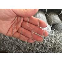 Buy cheap 1/ 2  Galvanized Woven Hexagonal Wire Mesh Chicken Wire Mesh 0.5 mm 4ft * 50m from wholesalers