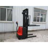 Buy cheap 2 Stage Mast Straddle Pallet Stacker , Pedestrian Counterbalanced Forklift from wholesalers