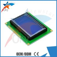 Buy cheap 128x64 oled display Dots Graphic Matrix 5V 12864 LCD Display Module Blue Screen from wholesalers