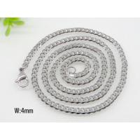 Buy cheap Stainless Steel Flat Small Chain Necklece 1520298 from wholesalers