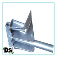 Buy cheap Hot Dipped Galvanized Steel Underpinning Brackets with High Load Capacity from wholesalers