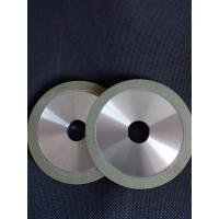 Buy cheap Green Color Vitrified Diamond Grinding Wheels Wear Resistance For Tungsten Carbide from wholesalers