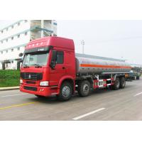 Wholesale 12 Wheels Sinotruk HOWO Oil Tanker Truck 30CBM Big Capacity 371HP Engine from china suppliers
