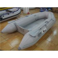 Buy cheap V Shaped PVC Inflatable Boat With 4 Individual Air Chambers / Aluminum Floor from wholesalers