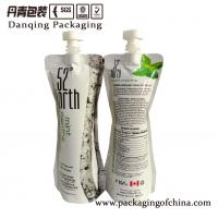 Acid - Proof PET Stand Up Liquid Pouch Packaging With Customized Cap