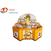 Buy cheap Multi Game Arcade Machine Excavator Kids Coin Operated Catch Candy Gift Vending Machine from wholesalers