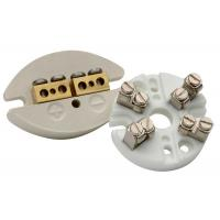 Buy cheap Thermocouple Machinable Ceramic Block / Industrial Porcelain Connector Block from wholesalers