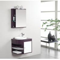 Buy cheap 50 X 47 X 48 / cm PVC bathroom cabinet 48 single sink vanity customized Dimenstions from wholesalers
