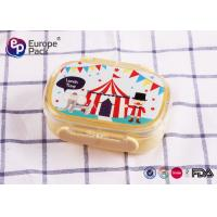 Buy cheap Environmentally Friendly Plastic Kids Cool Microwave Lunch Box That Keeps Food Warm from wholesalers