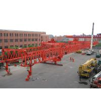 Buy cheap Steel Launching Gantry Crane for Building High Rise Constructions with 320 ton capacity and 55m span from wholesalers