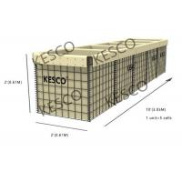 Buy cheap HESCO MIL 5 Series Military Sand Wall Hesco Barriers Zinc -5% Aluminum Alloy Wire product