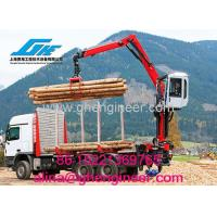 Buy cheap Truck Mounted Crane with Grab For Timber/ bricks/blocks from wholesalers